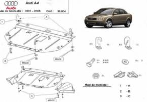 Scut motor  frontal Audi A4 2 2001 - 2005