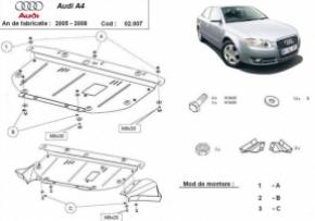 Scut motor  frontal Audi A4 3 2005 – 2008