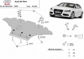 Scut motor  frontal Audi A4 4 dupa 2008