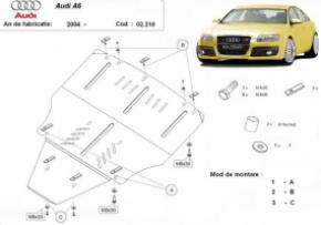 Scut motor  Audi A6 dupa 2004