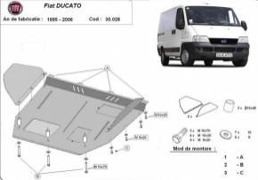 Scut motor  Fiat Ducato 1995 - 2006