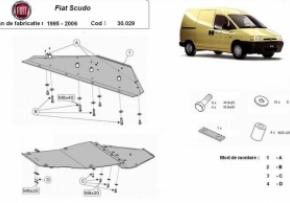 Scut motor  Fiat Scudo 1995 - 2006