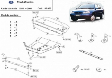 Scut motor  Ford Mondeo 1993 - 2000