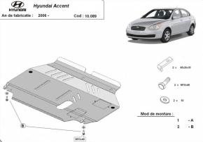 Scut motor  Hyundai Accent dupa 2006