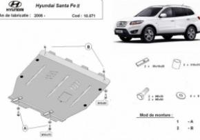 Scut motor  Hyundai Santa Fe dupa 2006