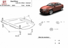 Scut cutie de viteza manuala Seat Exeo dupa 2009