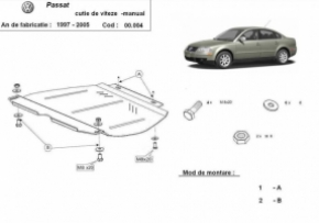 Scut cutie de viteza manuala VW Passat 2000 - 2005