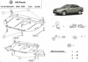 Scut motor  frontal VW Passat 2000 - 2005
