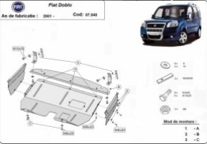 Scut motor Fiat Doblo, 1.3,1.6,1.9Tdi,2001