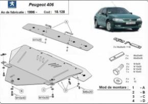 Scut motor Peugeot 406, 1.6,1.8,1.9D,2.0HDi,2.1TD, 1996-2004