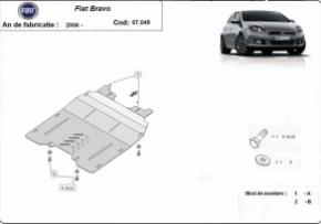 Scut motor Fiat Bravo, 1.3,1.4,1.6TDI,2006