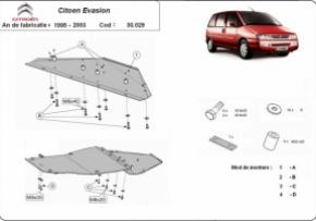 Scut motor Citroen Evasion 1995-2003