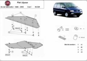 Scut motor  Fiat Ulysse 1995-2003
