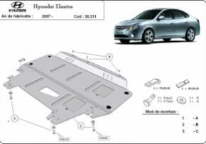 Scut motor  Hyundai Elantra dupa 2007