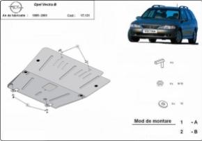 Scut motor  Opel Vectra B dupa 1995