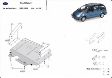 Scut motor  Ford Galaxy 1995 - 2006
