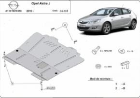 Scut motor  Opel Astra J 2010