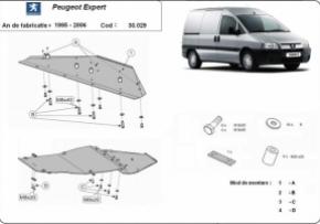 Scut motor  Peugeot Expert 1995-2006