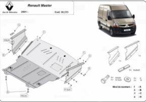 Scut motor  Renault Master dupa 2005