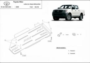 Scut diferential si cutie de viteza Toyota Hilux pana 2006