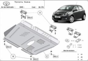 Scut motor  Toyota Yaris dupa 2005 (benzina)