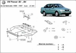 Scut motor  Volkswagen Passat 1988-1997 Diesel