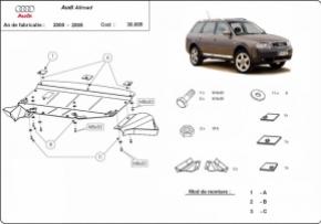 Scut motor  Audi Allroad 1999-2005