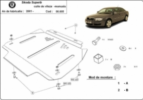 Scut cutie de viteza automata Skoda Superb 2001 - 2008