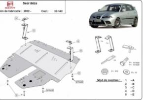 Scut motor  Seat Ibiza dupa 2002