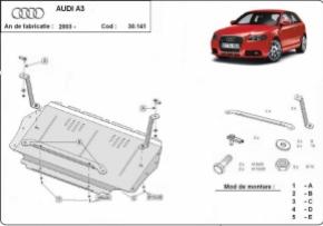 Scut motor  Audi A3 2003 - 2008