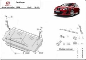 Scut motor  Seat Leon 2 dupa 2004