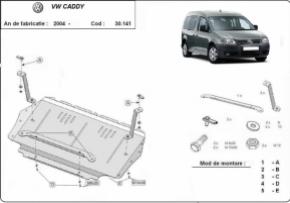 Scut motor  VW Caddy dupa 2004