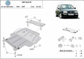 Scut motor  VW Golf 3 dupa 1991