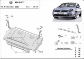 Scut motor  VW Golf 6 dupa 2009