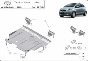Scut motor  Toyota Yaris dupa 2005 (diesel)