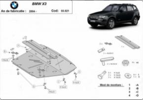 Scut motor  BMW X3 dupa 2004