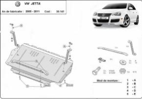 Scut motor VW Jetta dupa 2005-2011