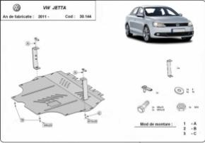 Scut motor  Volkswagen VW Jetta dupa 2011