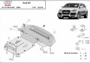 Scut motor  Audi Q7 dupa 2006