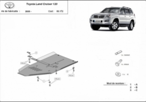 Scut cutie de viteza Toyota Land Cruiser dupa 2005