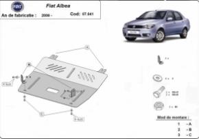 Scut motor  Fiat Albea  , motorizare 1.4 , 1.6  ,Tdi , Dupa 2006