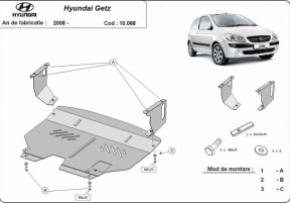 Scut motor  Hyundai Getz, motorizare 1.1 , 1.3 , 1.6 , dupa 2008
