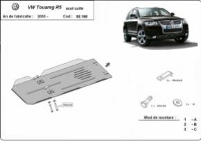 Scut cutie de viteza VW Touareg R5 Motorizare  2.5Tdi, 3.0Tdi, 3.2V6, 2003