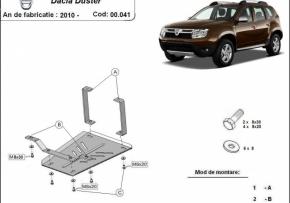 Scut diferential Dacia Duster dupa 2010