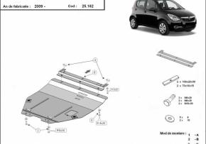 Scut motor  Opel Agila, Motorizare  1.0,1.1,1.3