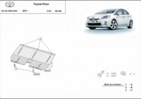 Scut motor  Toyota Prius, motorizare 1.4, 1.6, 1.8 ,D , Hybrid,