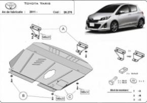 Scut motor  Toyota Yaris fabricat dupa 2011, motorizare  1.1, 1.3, 1.5
