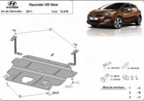 Scut motor  Hyundai i30 motorizare  1.4, 1.5, 1.6, fabricat dupa 2011