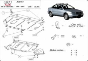 Scut motor  frontal Audi A4 1 1995 - 2001