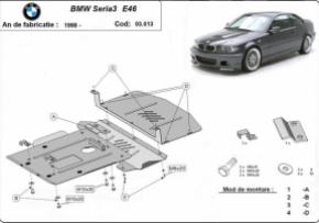 Scut motor  BMW Seria 3 E46 dupa 1998